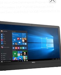 "Dell - Inspiron 19.5"" Touch-Screen All-In-One - Intel Core i3 - 4GB Memory - 1TB Hard Drive - Black Fort Myers, 33916"