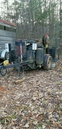 black and gray utility trailer Old Fort, 28762