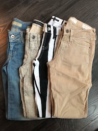 Guess Jeans Size 24 (4 pairs) Mississauga, L5B 4N4