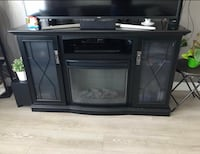 Tv stand with fire place ( suitable for TV up to 60inch ) Surrey, V3X 2N4