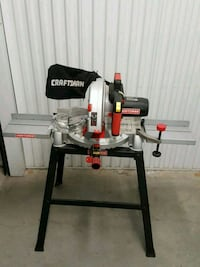 black and gray Craftsman miter saw Falls Church, 22042