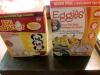 Recipe books and Egg attractor and Eggies Redlands, 92374