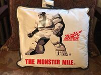 NASCAR CUSHION PILLOW, THE MONSTER MILE DUDE SEAT PILLOW CUSHION