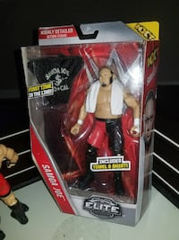 WWE Elite Samoa Joe action figure pack Winnipeg, R2K 1P4