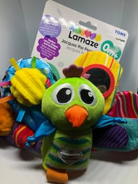Lamaze Jacques the Peacock Toy Calgary, T2Z 1A3