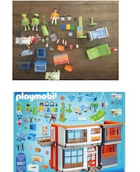 Playmobil lot retails for over $400