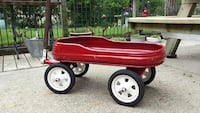 red steel wagon