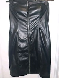 New! Ladies Tube Faux Leather Dress - Large Brampton, L6P