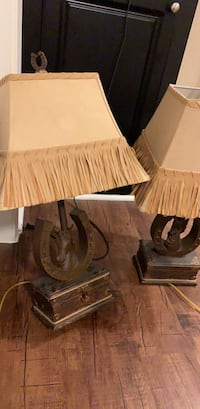 Rustic Horse Lamps - Set of 2  Irving, 75063