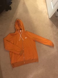 women's orange zip-up hoodie Germantown, 20874