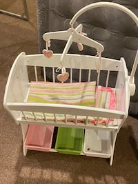 Baby Doll Toy Furniture