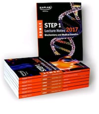 USMLE Step 1 Lecture notes 2017 1st  edition NEW Davie, 33324
