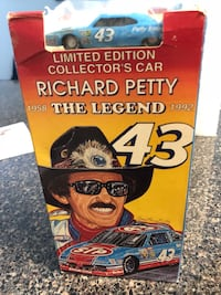 Richard Petty~The Legend~ Limited edition car and VHS tapes 306 mi