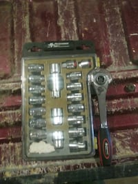 21pc Go Through Socket Set Weare, 03281