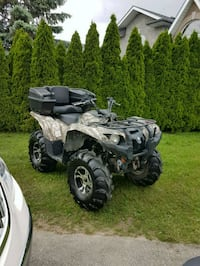 2009 Yamaha Grizzly 550 Atv