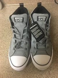 Pair of gray converse all star high-top sneakers Chuck Taylors Modesto, 95355