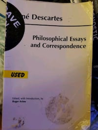 Philosophical Essay and Correspondence  Noblesville, 46060