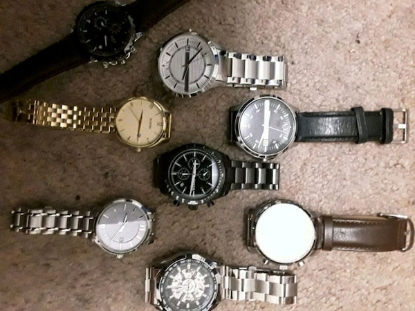 Selling a couple of my watches