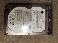 black Western Digital hard disk drive 543 km