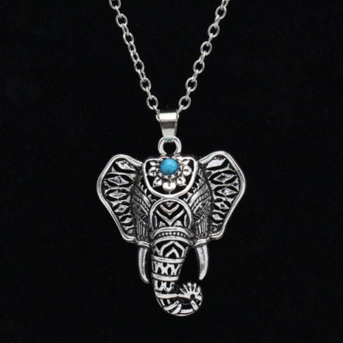 NEW Elephant Pendant Necklace