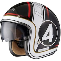 BLACK STRIKER LIMITED EDITION MOTORCYCLE HELMET