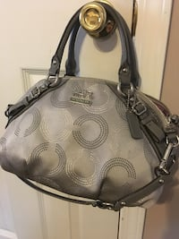 gray and black Coach leather shoulder bag Blue Springs, 64014