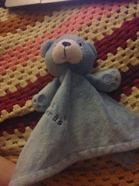 Primark Early Days Best Friends Teddy Bear Baby Soft Hug Toy Comforter Blue Guildford