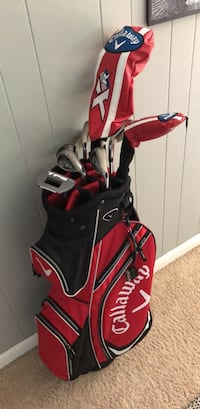 Complete Callaway XR Golf set with bag (P-Driver) and Cleveland Wedges (Like New) Virginia Beach, 23462