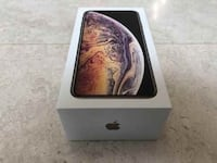 gold iPhone Xs box New York
