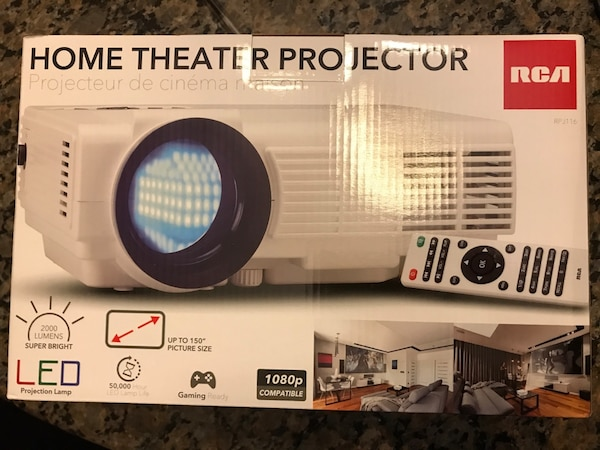 RCA Home theater projector (RPJ116) Brand New