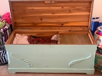 Vintage cedar chest mint green Arlington, 22203