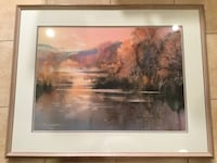 "Brent Heighton numbered print.  Framed dimension 29.5"" x 37.5""  Toronto, M2R 2L7"