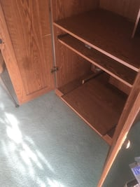 Brown wooden 2-door cabinet Kalamazoo, 49009