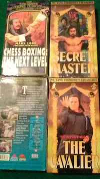 Vhs Old school kung fu
