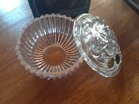Bohemia crystal candy bowl