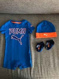 Baby Boy Puma Outfit 3-6 Months  714 km