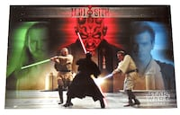STAR WARS EPISODE ONE JEDI VS SITH POSTER