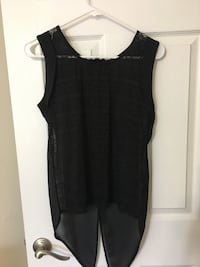 women's black sleeveless top 39 km