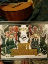 Kevin Durant dual Prospect rookie Rochester, 98579