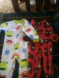 baby's white and red footie pajama Greenville, 27858