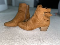 Kenneth Cole brown booties  Surrey, V3S 0Z1