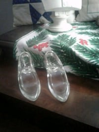 Oneida Crystal Glass Slippers