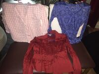 All clothing $4 - buy 5 or more and get 2 free