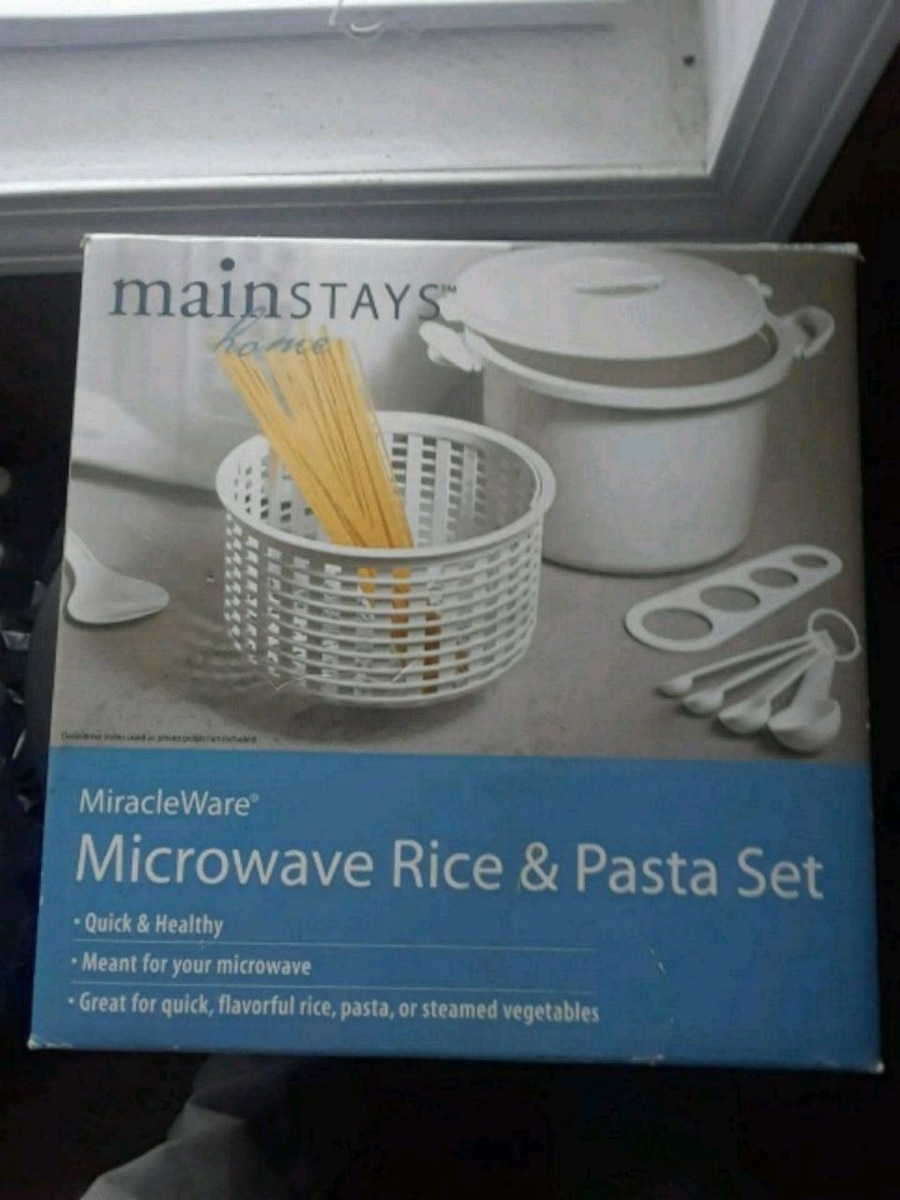 Photo Microwave Rice and pasta set