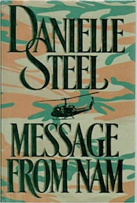 Read ad for Plot ** DANIELLE Steel - HARD COVER Message from Nam Hamilton