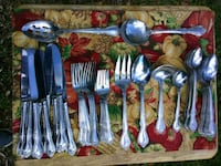 Japan Stainless Steel Flatware Service for 6 Washington
