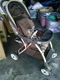 baby's black and gray stroller Rialto, 92376