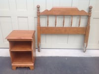 two brown wooden side tables Oshawa, L1K 0A2