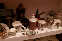 six assorted ceramic figurines and two white ceramic figurines Cleveland, 30528