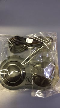 black and gray corded headphones Mississauga, L5C 2Z2